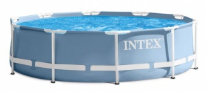 Intex Prism Frame concealed pool with accessories 732 x 132 cm blue