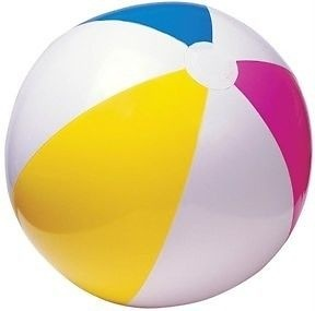 Intex Beach ball 61 cm yellow / blue / pink / white