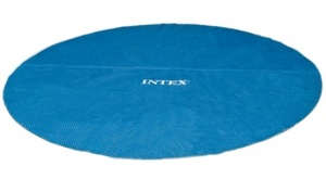 Intex Pool Solardeckel blau 305 cm