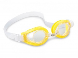 Intex zwembril Play Goggles junior geel