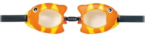 Intex zwembril vis junior oranje