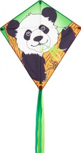 Invento diamond flyer EddyPanda 68 cm green/white/black