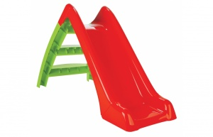 Jamara toboggan Happy Slidejunior 123 cm vert/rouge
