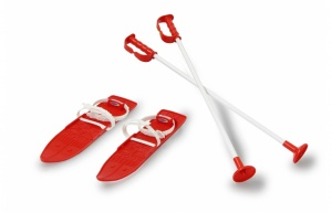 Jamara children's skis Alpin 1st Step red 40 cm