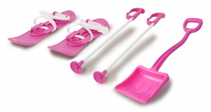 Jamara snow toys Snow Play 5-piece pink