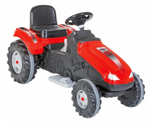 Jamara traktor Ride On Big Wheel 12 V 114 x 53 cm rot