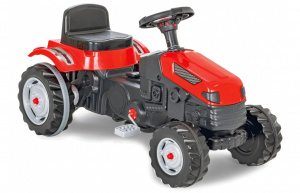 JAMARA pedal tractor Strong Bull junior 95 x 51 cm red/black