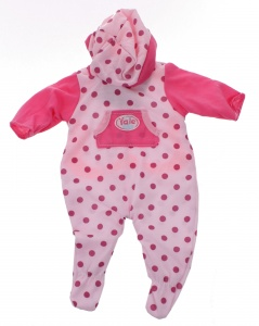 Johntoy Baby Rose babypuppe Kleidung Punkte 40-45 cm