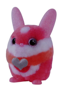 Johntoy DIY-dier buddy Fuzzy Fun junior 10 x 16 cm pluche