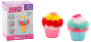 Johntoy DIY-set cupcakes en ijsjes Fuzzy junior pluche
