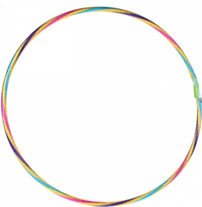 Johntoy hula hoop Outdoor Fun laserprint 76 cm