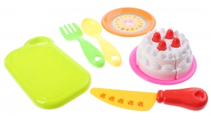 Johntoy Home and Kitchen playset Kuchen 10 Stück