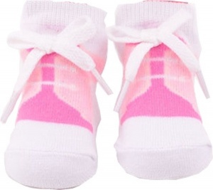 Johntoy doll sock baby pink veter