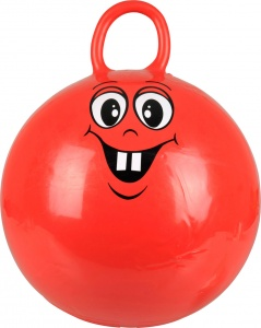 Johntoy Gymnastikball Outdoor Fun 50 cm rot