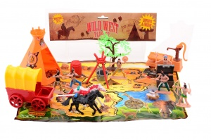 Johntoy speelset Wild West 20-delig