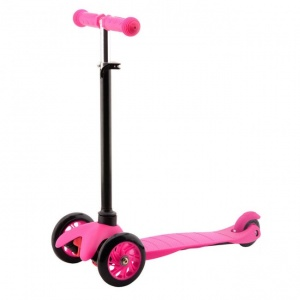 Johntoy Sports Active City kinderstep Junior Fußbremse Rosa