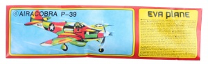 Johntoy vliegtuig Bell P-39 Airacobra 17,5 cm