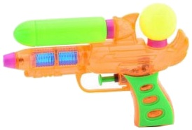 Johntoy waterpistool Aqua Fun 17 cm oranje