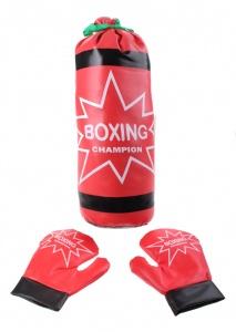 8ab06bac478 Jonotoys bokszak met 2 handschoenen rood