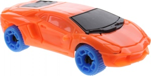Jonotoys Bausatz Auto Speed Car 15-teilig orange