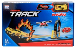 Jonotoys launch track Power TrackRacing boys 14-piece