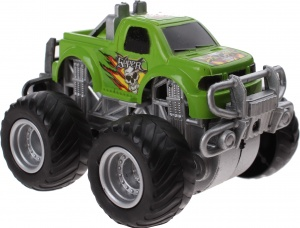 Jonotoys monstertruck Big Foot Drive 8.5 cm groen