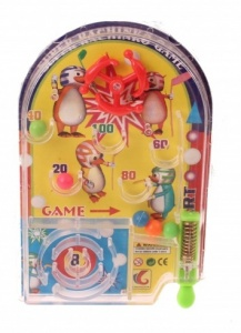 Jonotoys pinball mini game 11 cm yellow