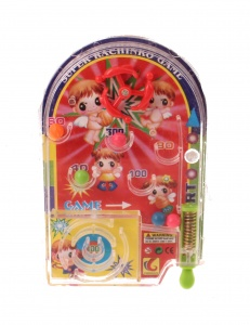 Jonotoys pinball mini game 11 cm red