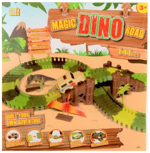 Jonotoys piste Magic Road Dinojunior 141-pièces