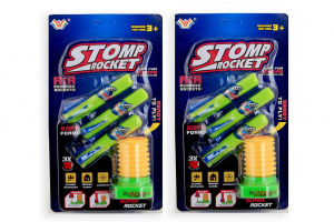 Jonotoys rocket shooters 3 pieces