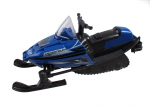 Jonotoys snowmobile with light and sound 14 cm blue