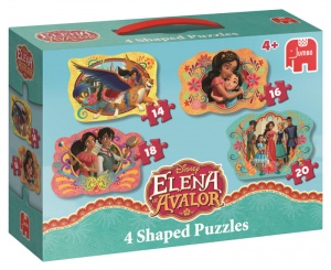 Jumbo Elena durch Avalor 4 Puzzles 14 bis 20 bits