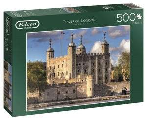 Jumbo Falcon Tower of London legpuzzel 500 stukjes