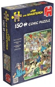 Jumbo JvH Fun in the Park jigsaw puzzle 150 pieces