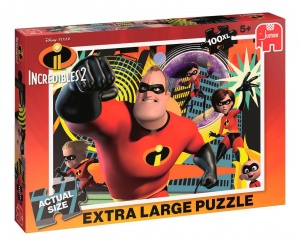 Jumbo legpuzzel Disney The Incredibles 2 XL 100 stukjes