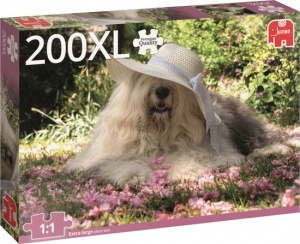 Jumbo legpuzzel Sophie the Dog 200 stukjes XL