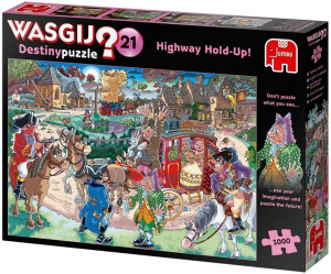 Jumbo puzzle Wasgij Destiny 21 Highway Hold-Up 1000 pièces