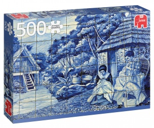 Jumbo PC Portuguese tiles from Funchall jigsaw puzzle 500 pieces