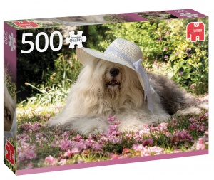 Jumbo PC Sophie Bed Of Flowers legpuzzel 500 stukjes