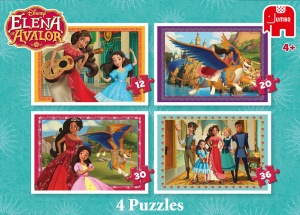 Jumbo Puzzel Elena van Avalor 4-in-1