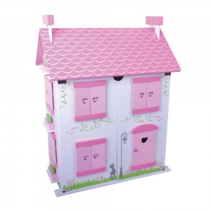 Jumini wooden dollhouse Rose Cottage