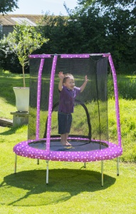 Jumpking My First Trampoline Prinzessin 1,4 Meter violett