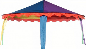 Jumpking trampoline-tent Canopy circus ovaal 2,74 x 3,96 meter