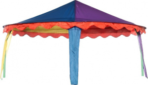 Jumpking trampoline-tent Canopy circus ovaal 4,27 x 5,18 meter