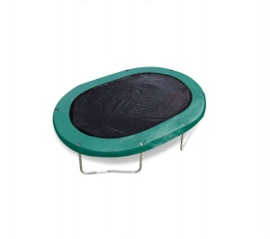 Jumpking trampoline cover black oval 2,44 x 3,51 meter