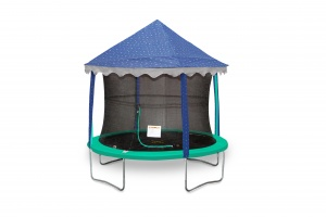 Jumpking canopy-tent trampoline stars 4,27 meter blue