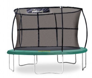 Jumpking trampoline with safety net JumpPod Classic 305 cm green