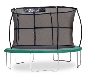 Jumpking trampoline with safety JumpPod Classicnet 427 cm green