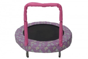 Jumpking trampolin Mini BouncerSchmetterling 121 cm rosa