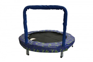 Jumpking trampolin Mini BouncerFrosch 121 cm blau